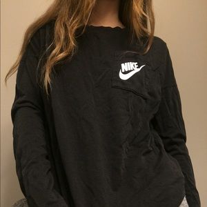 Nike black long-sleeve